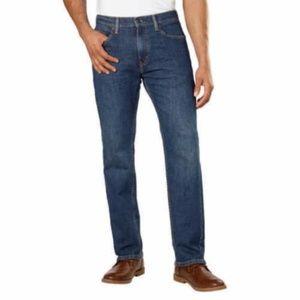 Levi's Men's 505 Regular Fit Straight/Mid Blue